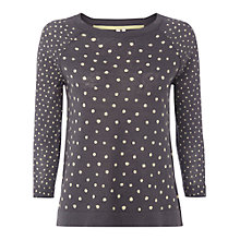 Buy White Stuff Dotty Jumper, Grey Online at johnlewis.com