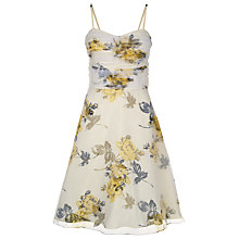 Buy Kaliko Vintage Colour Dress, Multi Yellow Online at johnlewis.com