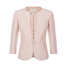 Buy Jacques Vert One Button Jacket, Champagne Online at johnlewis.com