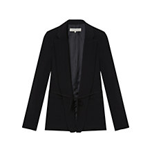 Buy Gerard Darel Antibe Belted Blazer, Black Online at johnlewis.com