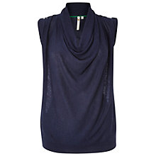 Buy White Stuff Happy For You Knitted Top, Classic Navy Online at johnlewis.com