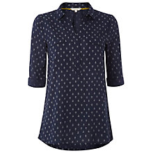 Buy White Stuff Porty Shirt, Dark Oyster Blue Online at johnlewis.com