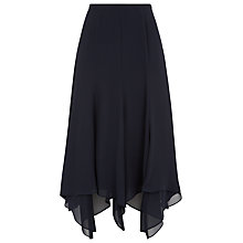 Buy Jacques Vert Chiffon Hanky Hem Skirt, Monique Online at johnlewis.com