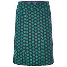 Buy White Stuff Silhouette Spot Print Skirt, Midnight Online at johnlewis.com