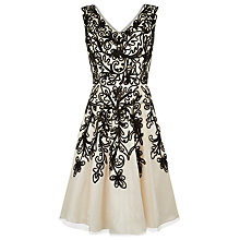 Buy Kaliko Cornelli Contrast Prom Dress, Ivory Online at johnlewis.com