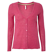 Buy White Stuff Tea Cardigan, Petal Pink Online at johnlewis.com