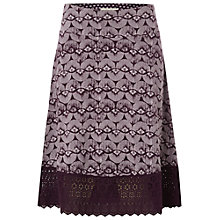 Buy White Stuff Maya Jersey Skirt, Purple Orchid Online at johnlewis.com