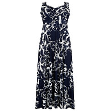 Buy Windsmoor Flower Print Maxi Dress, Multi Navy Online at johnlewis.com