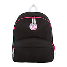 Buy Converse Children's All Star Backpack, Black/Pink Online at johnlewis.com