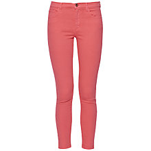Buy French Connection Coloured Denim Skinny Capri Trousers Online at johnlewis.com