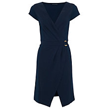 Buy French Connection Jennifer Tux Wrap Dress Online at johnlewis.com