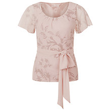 Buy Jacques Vert Floral Print Blouse, Multi Pink Online at johnlewis.com
