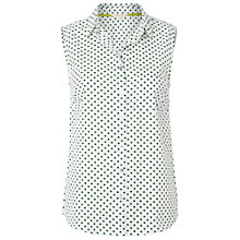 Buy White Stuff Cactus Spot Vest, White Online at johnlewis.com