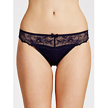 Buy COLLECTION by John Lewis Genevieve Thong, Haze Blue Online at johnlewis.com