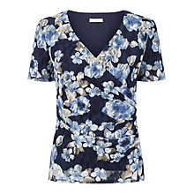 Buy Kaliko Floral Lace Top, Multi Navy Online at johnlewis.com