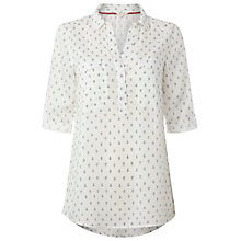 Buy White Stuff Porty Shirt, White Online at johnlewis.com