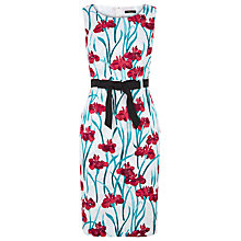Buy Precis Petite Iris Print Dress, Multi Light Online at johnlewis.com