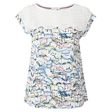 Buy White Stuff Sunrise Print Top, White Online at johnlewis.com