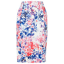 Buy L.K. Bennett Hannah Printed Skirt, Pink Online at johnlewis.com