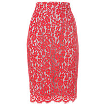 Buy L.K. Bennett Lace Overlay Skirt Online at johnlewis.com