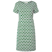 Buy White Stuff Spotty Little Oasis Dress, White Online at johnlewis.com