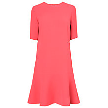 Buy L.K. Bennett Pepper Short Sleeved Dress, Jelly Bean Online at johnlewis.com