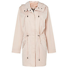 Buy Phase Eight Fernanda Parka Coat, Soft Pink Online at johnlewis.com