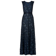 Buy Phase Eight Collection 8 Murcia Lace Beaded Dress, Storm Online at johnlewis.com