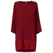Buy Phase Eight Amalia Tunic Dress, Scarlet Online at johnlewis.com