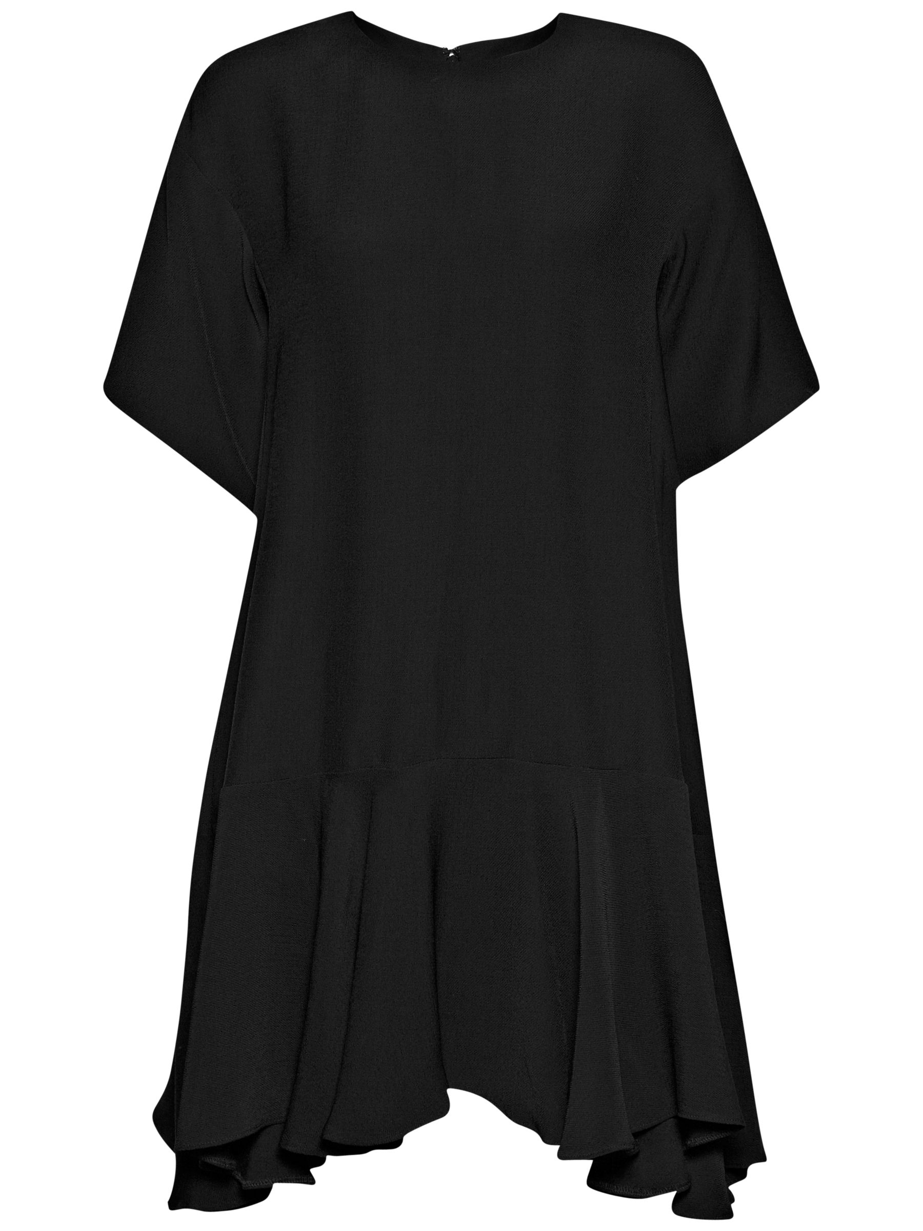 french connection downtown crepe frill hem dress black, french, connection, downtown, crepe, frill, hem, dress, black, french connection, 6|10|14|16|8|12, women, womens dresses, 1889122