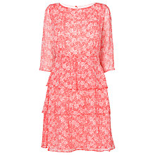 Buy L.K. Bennett Jaxon Multi Layer Dress, Jelly Bean Online at johnlewis.com