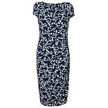 Buy Phase Eight Pandora Print Dress, Navy/Aqua Online at johnlewis.com