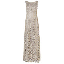 Buy Phase Eight Collection 8 Aleana Pearl Lace Dress, Silver Online at johnlewis.com