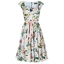 Buy Phase Eight Adele Blossom Fit and Flare Dress, Sky Online at johnlewis.com