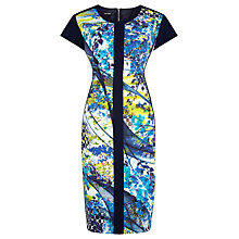Buy Gerry Weber Panelled Print Dress, Multi Online at johnlewis.com