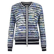 Buy Gerry Weber Print Bomber Jacket, Multi Online at johnlewis.com