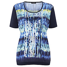 Buy Gerry Weber Sequin T-shirt, Multi Online at johnlewis.com