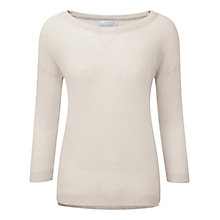 Buy Pure Collection Gassato Cashmere Sweatshirt Online at johnlewis.com
