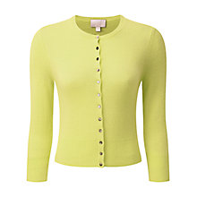 Buy Pure Collection Cashmere Crop Cardigan Online at johnlewis.com