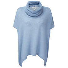Buy Pure Collection Gassato Cashmere Poncho Online at johnlewis.com