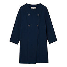 Buy Gerard Darel Aurelien Coat, Blue Online at johnlewis.com