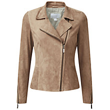 Buy Pure Collection Biker Jacket Online at johnlewis.com
