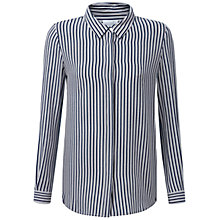 Buy Pure Collection Washed Silk Blouse Top Online at johnlewis.com