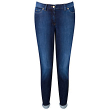 Buy Pure Collection Boyfriend Jeans, Washed Indigo Online at johnlewis.com