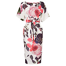 Buy Phase Eight Chantay Rose Dress, Multi Online at johnlewis.com
