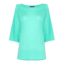 Buy Phase Eight Shanae Swing Knitted Top, Cool Mint Online at johnlewis.com