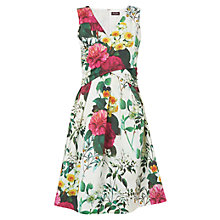 Buy Phase Eight Kensington Floral Dress, Ivory/Multi Online at johnlewis.com