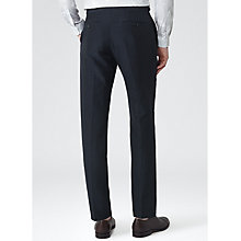 Buy Reiss Leary Linen Blend Suit Trousers, Navy Online at johnlewis.com