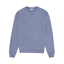 Buy Reiss Cart Seam Detail Sweatshirt, Blue Online at johnlewis.com
