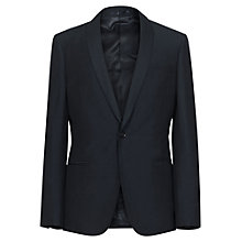 Buy Reiss Leary Linen Blend Suit Jacket, Navy Online at johnlewis.com